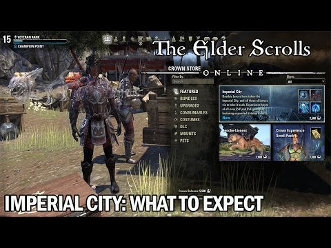 ESO Imperial City DLC Expansion - what to expect? The Elder Scrolls Online