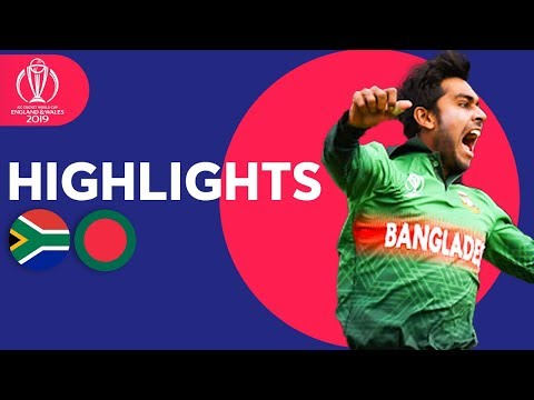 Xxx Mp4 Tigers Win In Thriller South Africa Vs Bangladesh ICC Cricket World Cup 2019 Match Highlights 3gp Sex