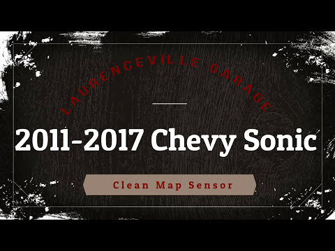 How to clean 2015 Chevy Sonic MAF sensor