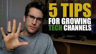 5 Tips for Small Tech Channels