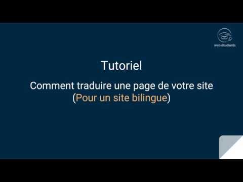 Traduction d'une page avec Wordpress Multilingual (WPML)