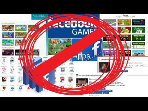 How to block Facebook game and app invites