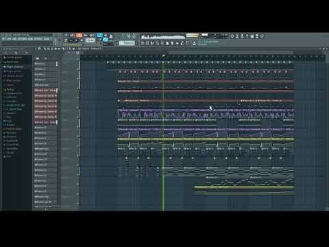 this electro track I'm working on, eh