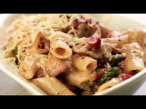 How To Make Spicy Chicken Pasta | Homemade Spicy Chicken Pasta Recipe | Easy Chicken Pasta Recipe