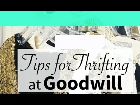 GOODWILL BINS | EXPERT TIPS ON FINDING TREASURES | MELLYFAB