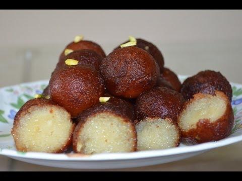 Gulab Jamun Recipe With Khoa / Mawa / Kova