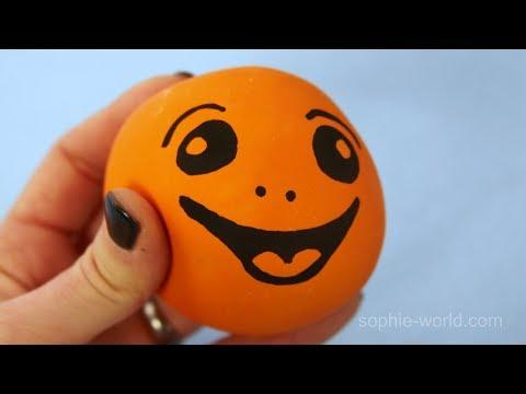 How to Make a Playdough Stress Ball | Sophie's World