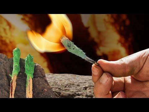 DIY Stormproof Matches -