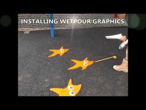 Play Area Wet Pour Surfacing Multicolour Area