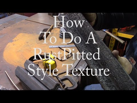 How to do a Rust Pitted Texture
