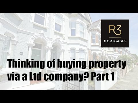 Thinking of buying property via a Ltd company? Part 1