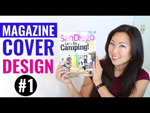 How to Design Magazine Covers using Adobe InDesign // Best Magazine Covers