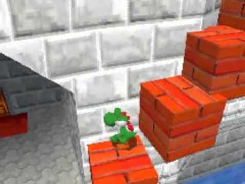 Super Mario 64 DS Map Editing Test