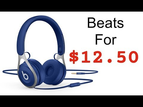 How I Got Brand NEW Beats by Dre for $12.50 !!!