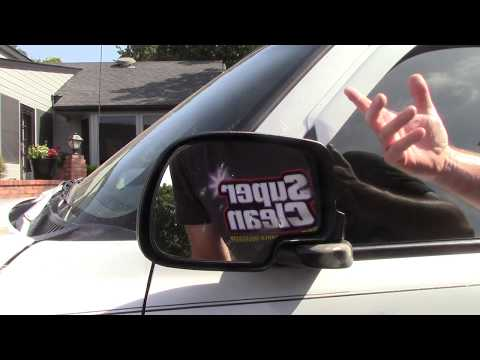 Tips To Removing Stickers From Car Glass & Mirrors