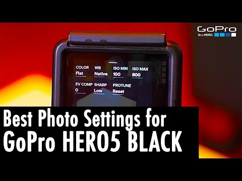 The Absolute BEST PHOTO Settings for the GoPro Hero5 Black (w/ Adobe Lightroom Tutorial) | RehaAlev
