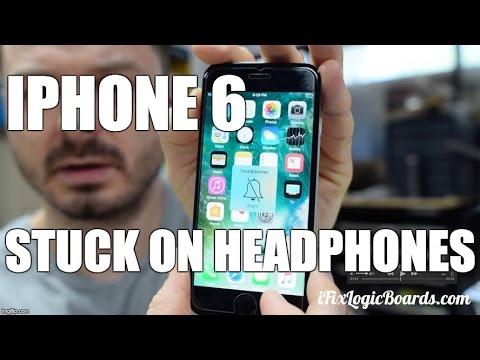 iPhone 6 stuck on headphones logic board repair