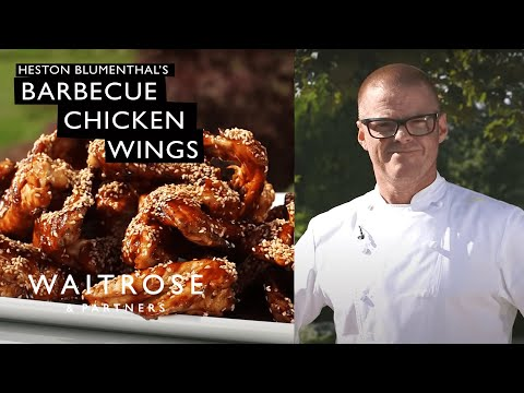 Heston Blumenthal's Barbecue Chicken Wings | Waitrose