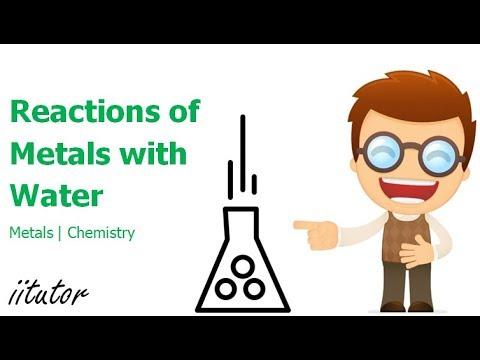 √ Reactions of metals with water   iitutor