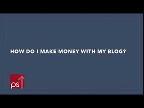 How Do I Make Money With My Blog?