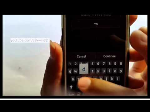 Samsung Galaxy S4 : How to remove password (Android Kitkat)