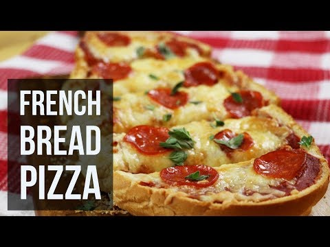 French Bread Pizza | Quick and Easy No-Dough Pizza Recipe by Forkly
