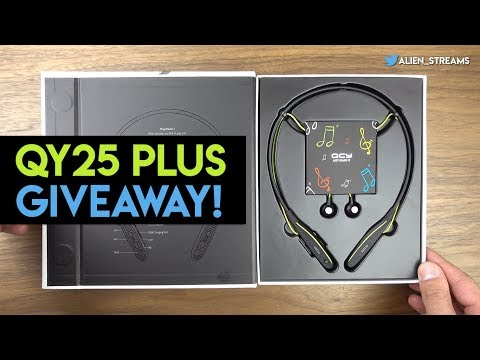 QCY QY25 Plus Review & Giveaway! 4K video