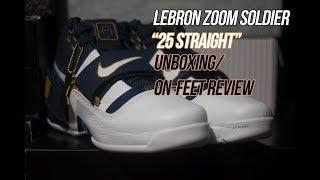 a8d1a7a7b9c7a0 Lebron Zoom Soldier Art of a Champion  25 Straight