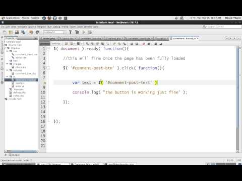 AJAX - Comment Box with [ Javascript jQuery JSON PHP MySQL  ] - Step by Step How to Guide - Part 10