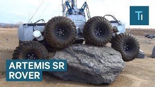 This 8-Wheeled Rover Is Built For Space