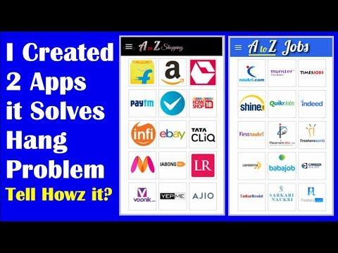 Abcdkart | AtoZ Shopping App & Jobs App, It solves phone hanging Problem | EarningBaba