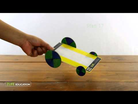 Balloon Powered Car Experiment : Monthly Science box | Subscription box for Kids