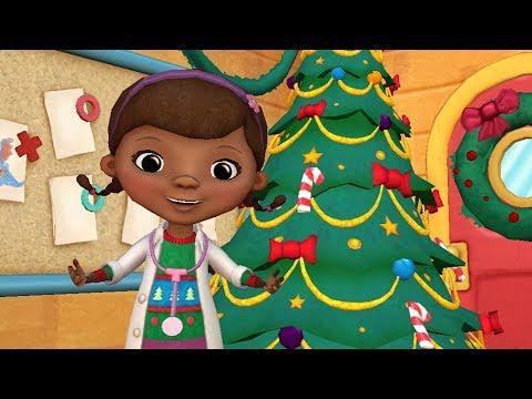 Doc McStuffins Christmas Clinic 🎄 Disney Junior Color & Play App for Kids