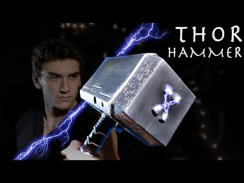 How To Make an Electric THOR HAMMER! - Thor Ragnarok (Cheap Build INSANE VOLTAGE)