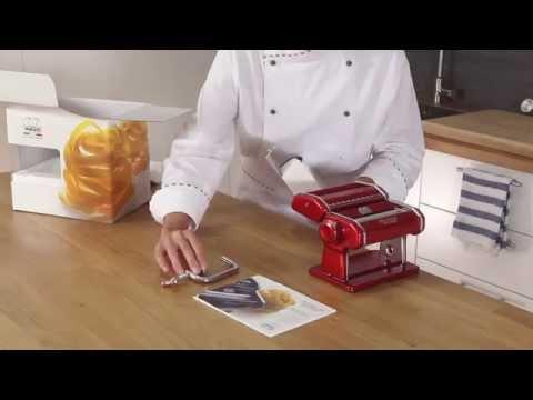 Homemade fresh pasta with Marcato Atlas 150 - Video tutorial