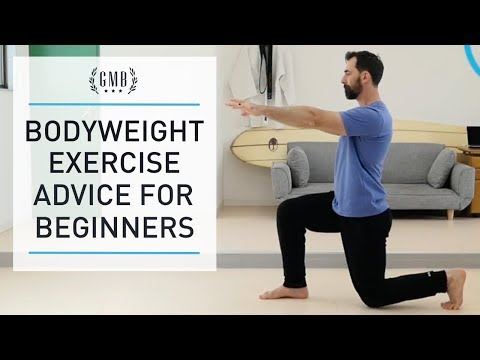 Bodyweight Exercise Advice for Beginners