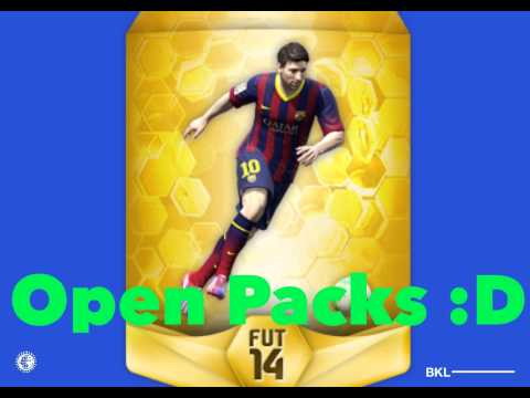 How To Get MESSI In Fifa 14 Ultimate Team!