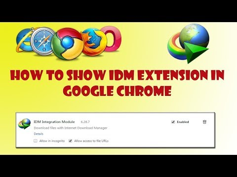 [HINDI/URDU] How to fix IDM extension problem in Google Chrome and Mozilla Firefox