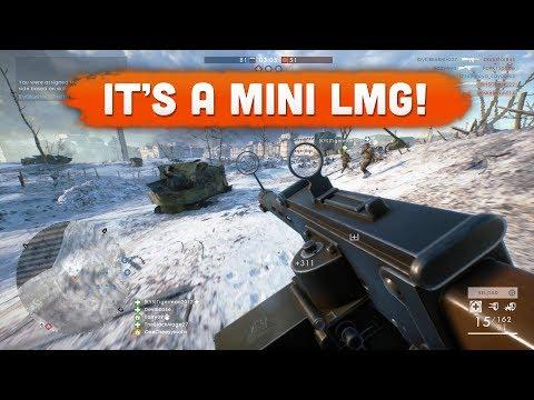 62 KILLS WITH THE NEW SMG! (Mini LMG) - Battlefield 1 | Road to Max Rank #107
