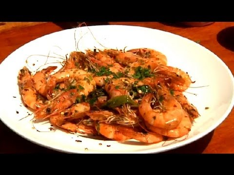 How to Make Jamaican Pepper Shrimp : Summer Grilling & More