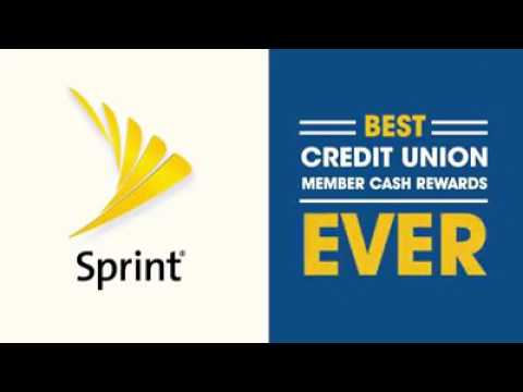 2017 Sprint Credit Union Member Cash Rewards