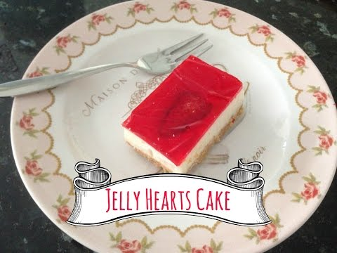 How To Make A Jelly Hearts Cake!