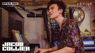 """Jacob Collier """"Weak"""" (SWV Cover - Home Performance)   Open Mic"""
