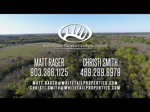 Beautiful Large Acre Tract With Multiple Uses  - Hunt TX 118 acres