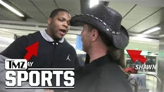 NY Giants Player -- Hey, Shawn Michaels ... I