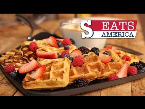 Belgium Waffles Recipe - SORTED EATS