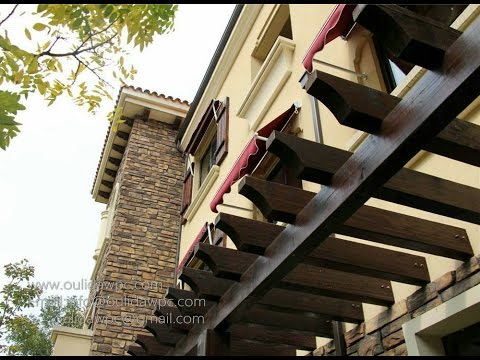 How to build WPC attached Pergola I Assembly video