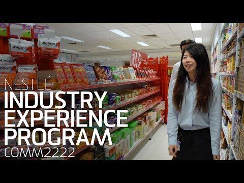 Industry Experience Program - Nestlé (COMM2222)