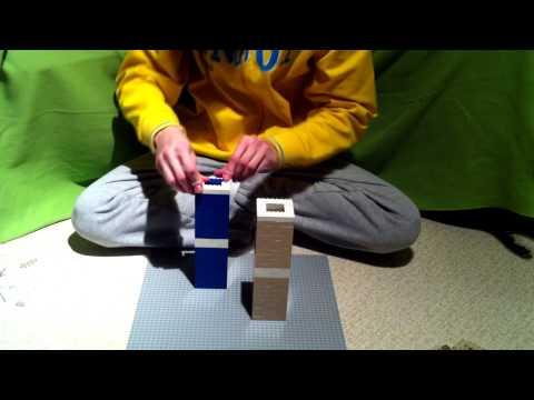 Building World Trade Center in Lego