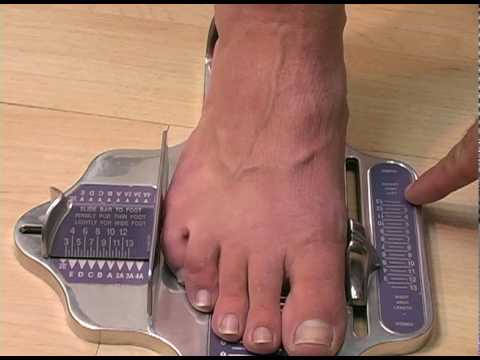 The Brannock Device and Shoe Sizing